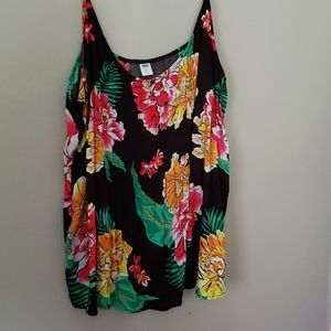 OLD Navy Bold FLORAL Tank Top
